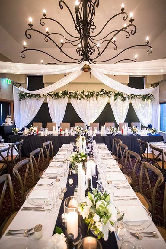 Terrace Downs venue styling by Kim Chan Events