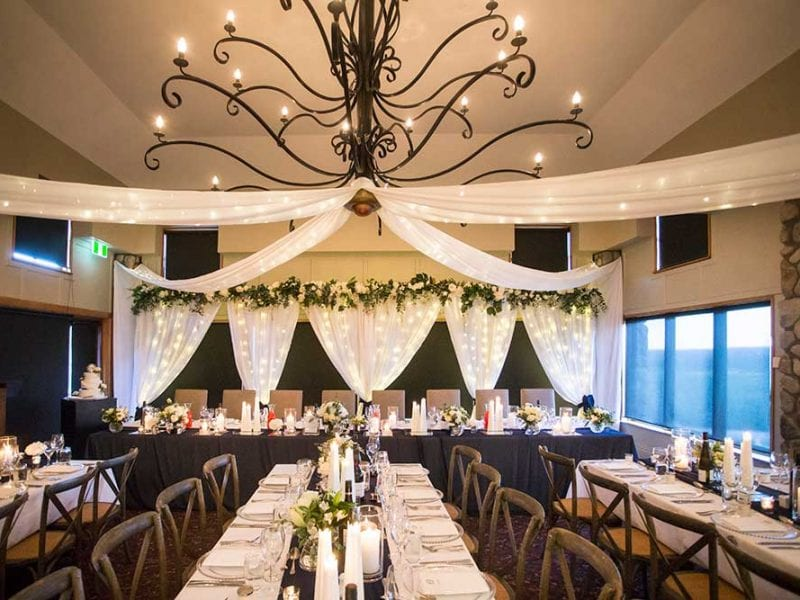 Venue styling and design by Kim Chan Events