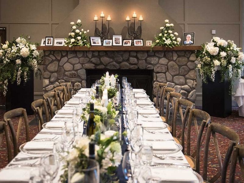 Wedding table design and styling