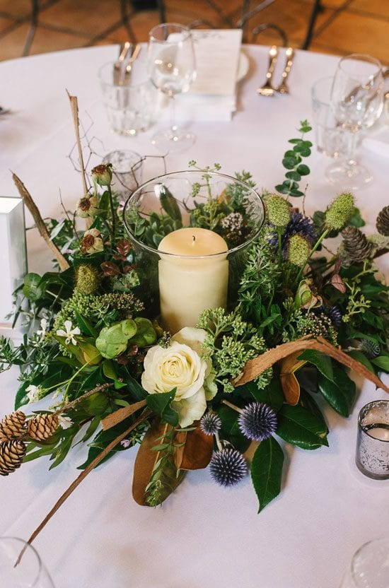 Wedding florals by Kim Chan Events for Jude and John's wedding