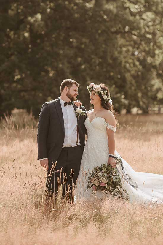 Courtney and Vinny - Flowers by Kim Chan Events