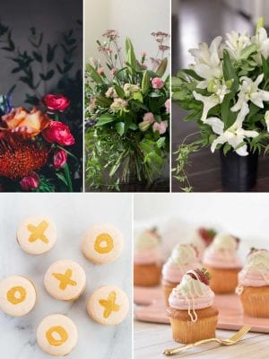 Bouquet and cupcakes - flower delivery Christchurch