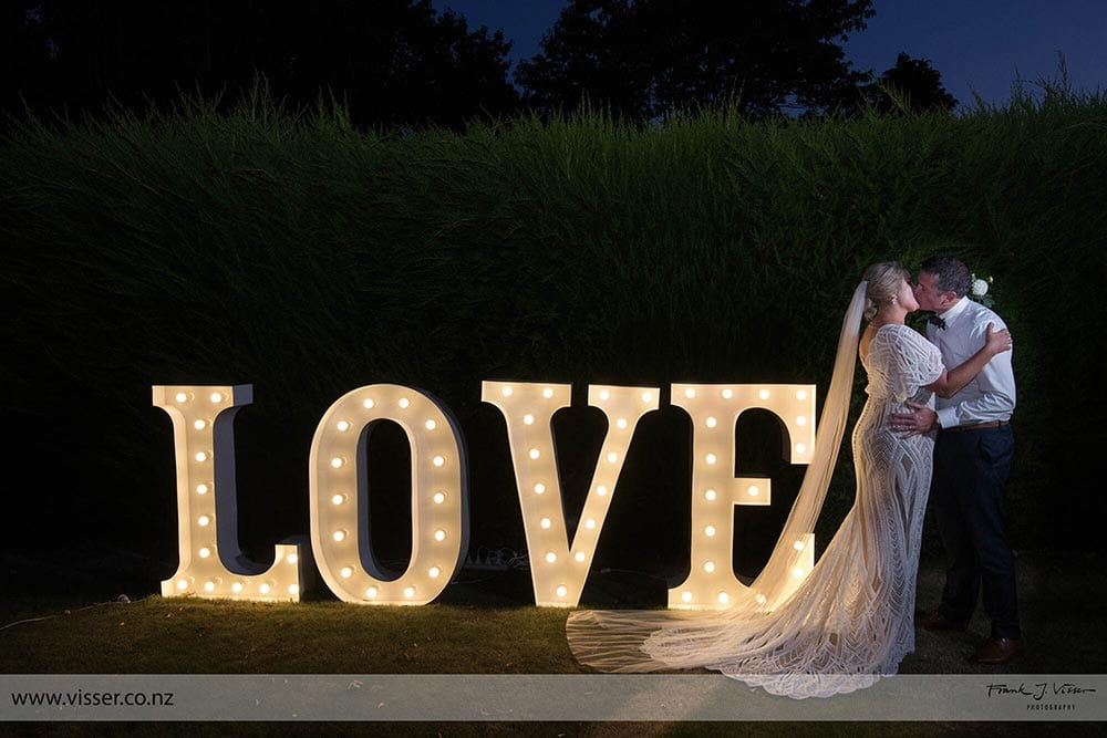 Love sign at Trotters Garden